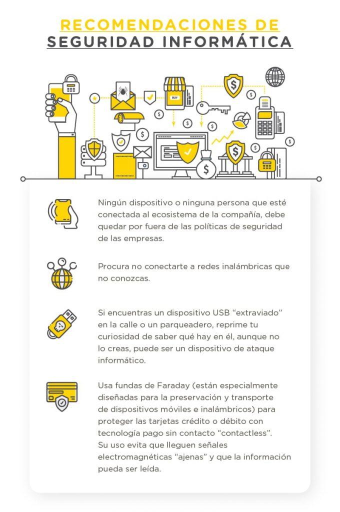 Ciberseguridad en Colombia recomendaciones